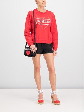 LOVE MOSCHINO LOVE MOSCHINO Bluza W630621E2017 Czerwony Regular Fit