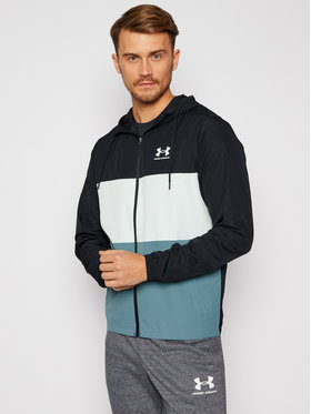 Under Armour Under Armour Átmeneti kabát Ua Sportstyle Wind Full Zip 1357136 Fekete Loose Fit