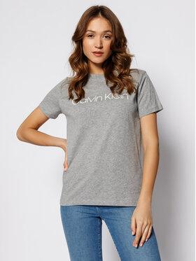 Calvin Klein Calvin Klein Marškinėliai Core K20K201365 Pilka Regular Fit