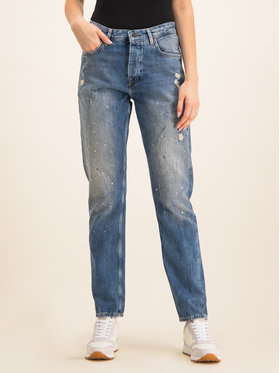 Pepe Jeans Pepe Jeans Jeansy PL203419L Granatowy Regular Fit