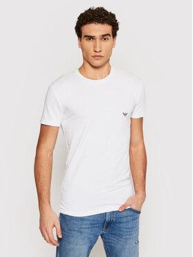 Emporio Armani Underwear Emporio Armani Underwear Tricou 111035 1P725 00010 Alb Regular Fit