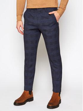 Pierre Cardin Pierre Cardin Текстилни панталони 72534/810/14269 Тъмносин Modern Fit