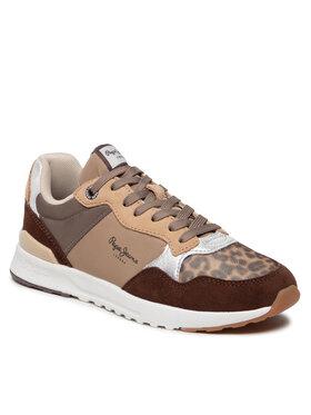 Pepe Jeans Pepe Jeans Sneakersy Verona Pro Touch PLS31271 Béžová