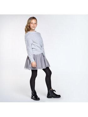 Mayoral Mayoral Komplektas: megztinis ir suknelė 7974 Pilka Regular Fit
