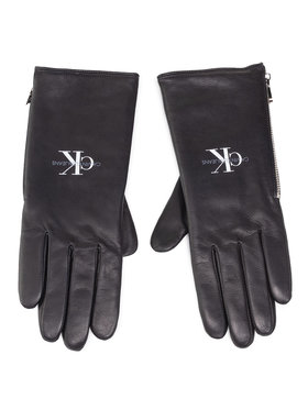 Calvin Klein Jeans Calvin Klein Jeans Дамски ръкавици Gloves Lth K60K607353 Черен