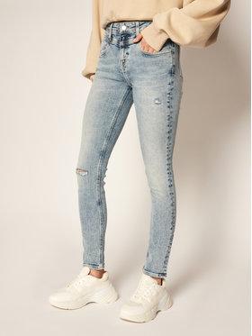 Calvin Klein Jeans Calvin Klein Jeans Skinny Fit džínsy J20J213988 Modrá Skinny Fit