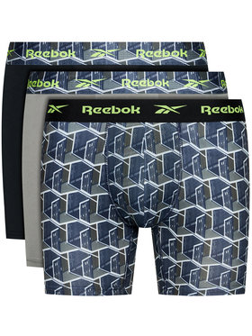 Reebok Reebok Σετ 3 ζευγάρια μποξεράκια F8314 Έγχρωμο