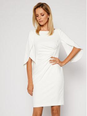 DKNY DKNY Koktejlové šaty DD9H1926 Bílá Regular Fit