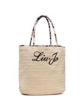 Liu Jo Liu Jo Дамска чанта Borsa Paglia Logo VA1139 T0300 Бежов