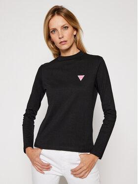 Guess Guess Блуза Eliza W0BI52 I3Z11 Черен Regular Fit