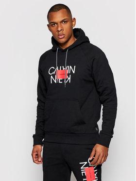 Calvin Klein Calvin Klein Pulóver Text Reversed K10K106473 Fekete Regular Fit
