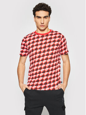 Puma Puma T-Shirt Aop 588153 Czerwony Regular Fit