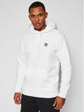 adidas adidas Majica dugih rukava Trefoil Essentials GP0931 Bijela Regular Fit