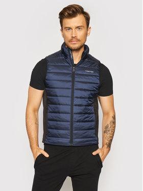 Calvin Klein Calvin Klein Vestă Essential Side Logo K10K107337 Bleumarin Regular Fit