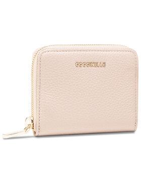 Coccinelle Coccinelle Malá dámská peněženka HW5 Metallic Soft E2 HW5 11 A2 01 Béžová