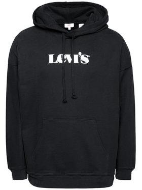 Levi's® Levi's® Sweatshirt Rider Iridescent Graphic 34400-0012 Noir Oversize