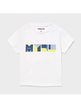 Mayoral Mayoral T-Shirt 106 Biały Regular Fit