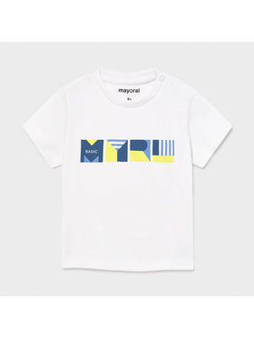 Mayoral Mayoral T-shirt 106 Bianco Regular Fit