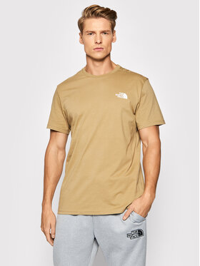 The North Face The North Face Póló Simple Deme Tee NF0A2TX5P Bézs Regular Fit