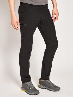 Salomon Salomon Outdoorové kalhoty Wayfarer Lt L40218700 Černá Regular Fit