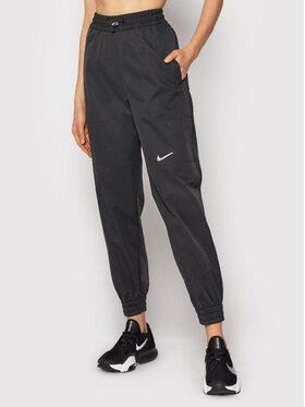Nike Nike Teplákové kalhoty Sportswear Swoosh CZ8909 Černá Standard Fit
