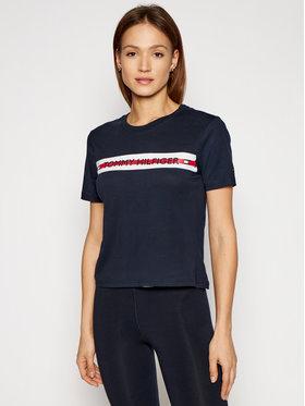 Tommy Hilfiger Tommy Hilfiger T-shirt Ss UW0UW02551 Tamnoplava Regular Fit