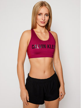 Calvin Klein Performance Calvin Klein Performance Reggiseno top Medium Support 00GWF0K157 Rosa