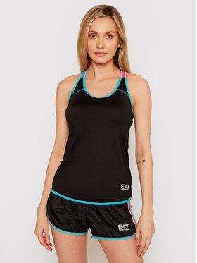 EA7 Emporio Armani EA7 Emporio Armani Techniniai marškinėliai 3KTH57 TJ56Z 1200 Juoda Slim Fit