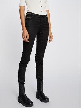 Morgan Morgan Spodnie materiałowe 212-PALONA Czarny Slim Fit