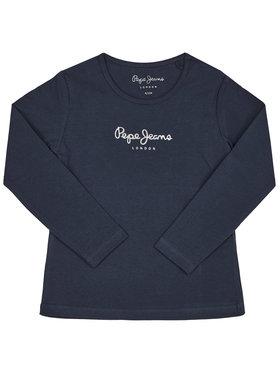 Pepe Jeans Pepe Jeans Bluse Hana PG501364 Dunkelblau Regular Fit
