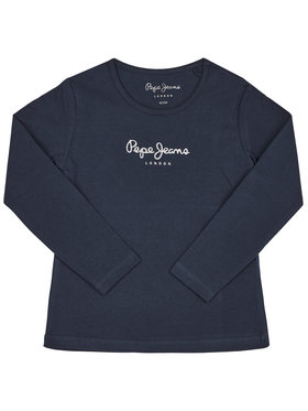 Pepe Jeans Pepe Jeans Блуза Hana PG501364 Тъмносин Regular Fit