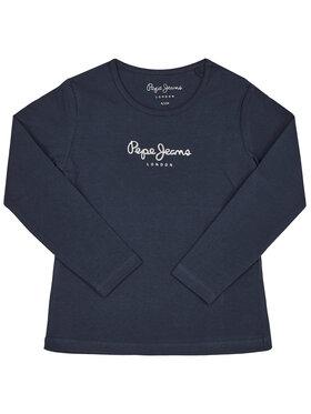 Pepe Jeans Pepe Jeans Μπλουζάκι Hana PG501364 Σκούρο μπλε Regular Fit