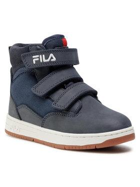 Fila Fila Šnurovacia obuv Knox Velcro Mid Jr 1011086.29Y Tmavomodrá