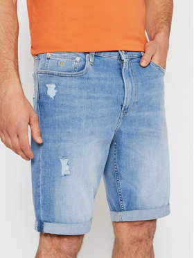 Calvin Klein Jeans Calvin Klein Jeans Džinsiniai šortai J30J317749 Mėlyna Slim Fit