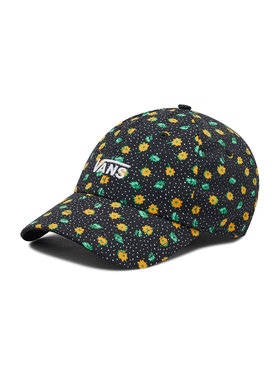 Vans Vans Шапка с козирка Court Side Printed Hat VN0A34GRVCY1 Черен