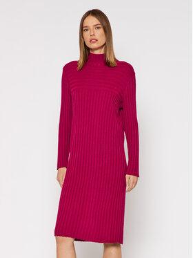 United Colors Of Benetton United Colors Of Benetton Úpletové šaty 122NDV002 Ružová Regular Fit