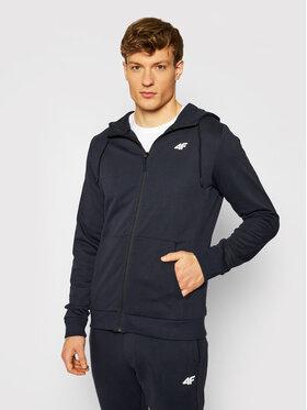 4F 4F Sweatshirt NOSH4-BLM004 Dunkelblau Regular Fit