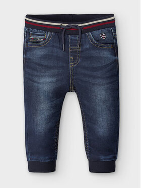 Mayoral Mayoral Jeansy 2585 Granatowy Jogger Fit