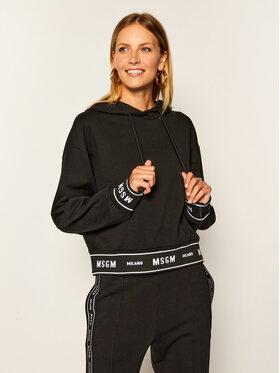 MSGM MSGM Sweatshirt 2941MDM183 207799 Noir Regular Fit