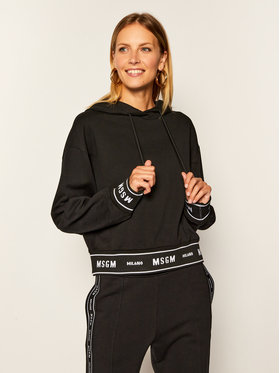 MSGM MSGM Sweatshirt 2941MDM183 207799 Schwarz Regular Fit