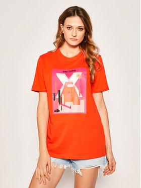 Armani Exchange Armani Exchange T-Shirt 3HYTAC YJG3Z 1649 Pomarańczowy Regular Fit