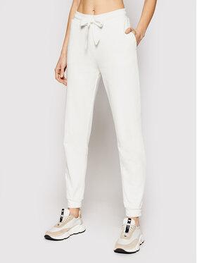 Trussardi Trussardi Teplákové kalhoty 56P00291 Bílá Regular Fit
