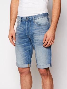 G-Star Raw G-Star Raw Džínsové šortky 3301 1/2 D07432-8973-424 Modrá Straight Fit
