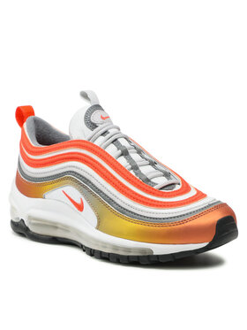 Nike Nike Boty Air Max 97 (GS) 921522 900 Bílá