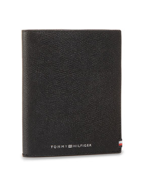 Tommy Hilfiger Tommy Hilfiger Dokumentenetui Business Passport Wallet AM0AM06515 Schwarz