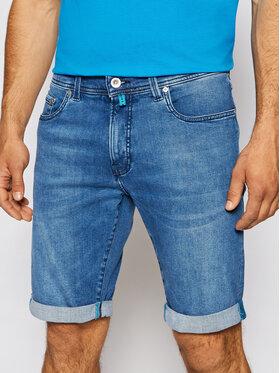 Pierre Cardin Pierre Cardin Pantaloncini di jeans 3452/000/8860 Blu scuro Tapered Fit