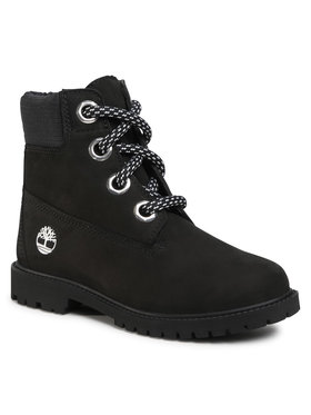Timberland Timberland Bakancs Heritage 6 In Waterproof Boot TB0A2Q8F0011 Fekete