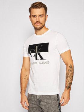 Calvin Klein Jeans Calvin Klein Jeans T-Shirt J30J315727 Bílá Regular Fit