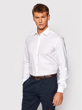 Pierre Cardin Pierre Cardin Риза 4501/000/27620 Бял Slim Fit