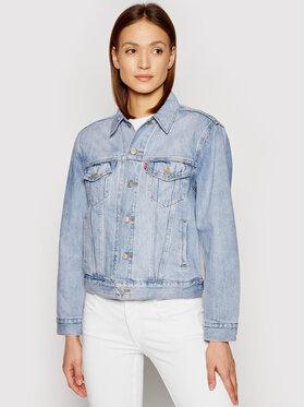 Levi's® Levi's® Jeansová bunda Ex-Boyfriend Trucker 29944-0149 Modrá Relaxed Fit